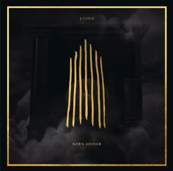 J. Cole Born Sinner Album Cover