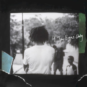 J. Cole 4 Your Eyez Only Album Cover